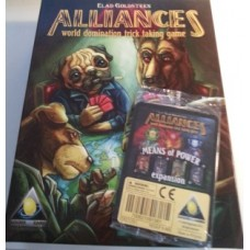 Alliances card game includes Means of Power expansion (Used)