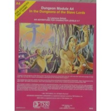 Advanced Dungeons & Dragons 1st Edition In The Dungeons of the Slave Lords A4 (Used)