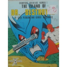 Champions - 1st Edition - The Island of Dr. Destroyer (Used)