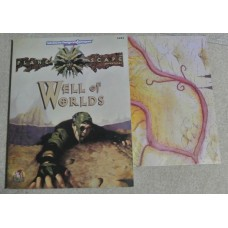 Advanced Dungeons & Dragons - 2nd  Edition - Plane Scape Adventures: Well of Worlds (Used)