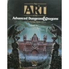 Advanced D&D - The Art of Advanced Dungeons and Dragons Fantasy Game (Used)
