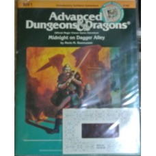 Advanced Dungeons & Dragons - 1st  Edition - MV1 Midnight on Dagger Alley