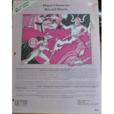 Advanced D&D - Player Character Record Sheets (Used)