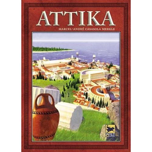 Attika German Edition With Printed English Instructions Used